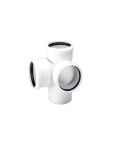 Vamzdis mažatriukšmės vidaus kanalizacijos Skolan-dB PP 50mm, ilgis 0.15m
