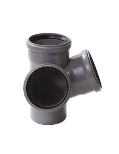 Keturšakis erdvinis vidaus kanalizacijos PP 110 x 110 x110mm / 67*