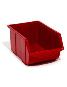 Dėžutė Ecobox vidutinė raudona (25 x 16 x 13 cm)