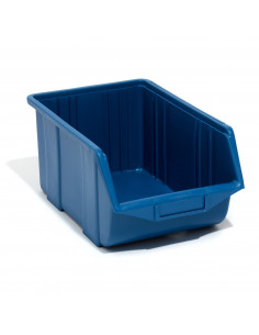 Dėžutė Ecobox vidutinė mėlyna (25 x 16 x 13 cm)