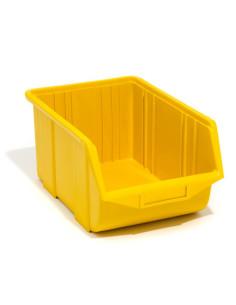 Dėžutė Ecobox vidutinė geltona (25 x 16 x 13 cm)
