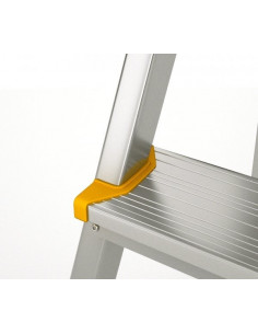 Kopėčios aliuminės, buitinės EUROSTYL, 3 pakopų, 55-125cm