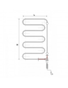 Elektrinis džiovintuvas ANGIS 2B baltas (E340-2BB) W 45