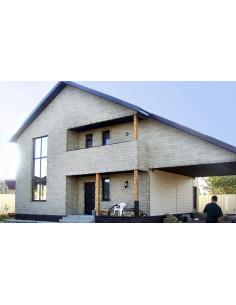 Fasadinė plokštė 'Granitas' (spalva Nr.1)