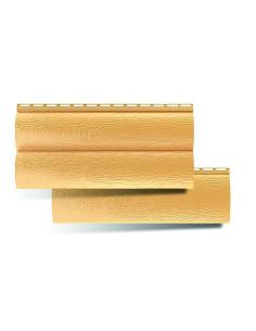 Fasadinė apkala 'BlockHouse', dvigubas, aukso