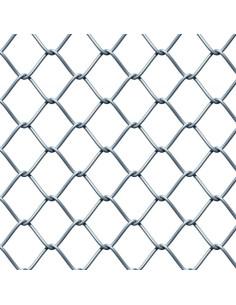 Tvoros tinklas regztas, cinkuotas, aukštis 1.5m, akis 50x50mm, storis 2.2mm