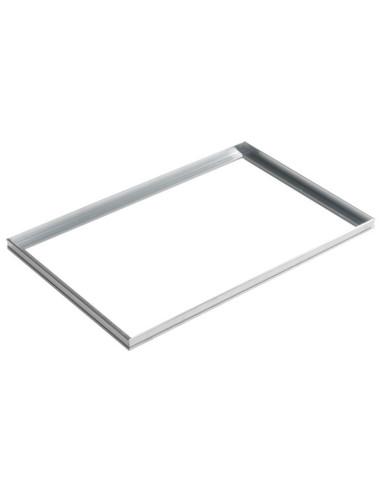 Aliuminio rėmelis montuojamas į...