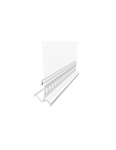 PVC profilis 815 nulašėjimo su tinkleliu 2.0m