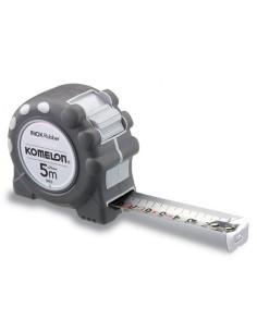Matavimo ruletė KOMELON Inox Rubber (nerūd. plieno) 5m