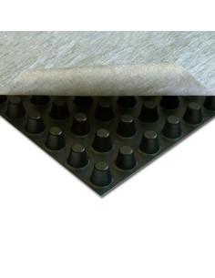 Drenažinė membrana su geotekstile ISO-DRAIN 8 GEO