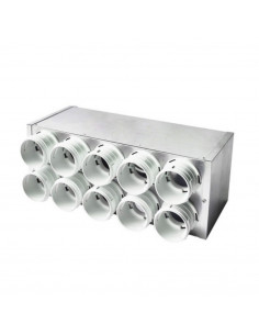 Kolektorius ortakiams 6 žeidų 75mm