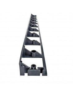Plastikiniai bortai trinkelėms, vejai Plastbort45, plastikinis, ilgis 1m, aukštis 45mm