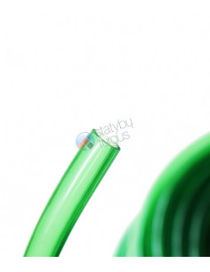 Laistymo žarna 15/19mm skaidriai žalia, 50m ritinyje