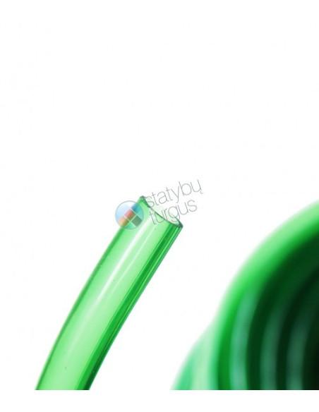 Laistymo žarna 19/24mm skaidriai žalia, 50m ritinyje