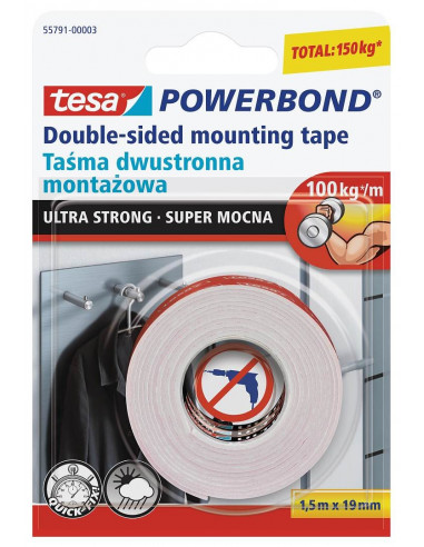 Juosta dvipusė Powerbond Ultra Strong