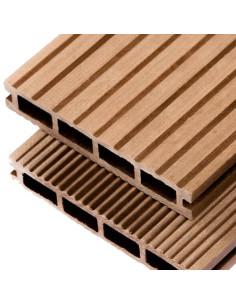 Terasinė lenta iš medienos-plastiko kompozito WPC-P, Karamelės spalva