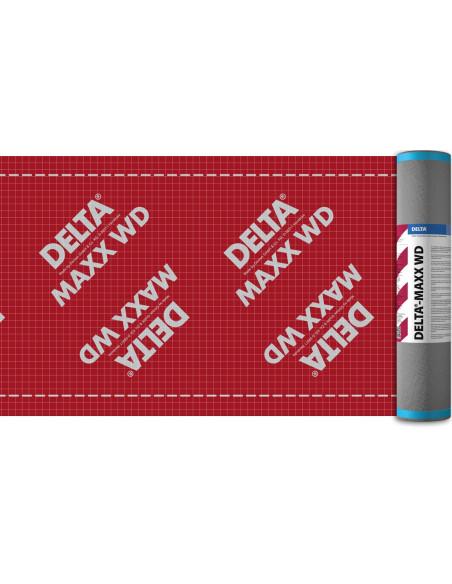 Difuzinė plėvelė su lipnia juosta DELTA MAXX WD