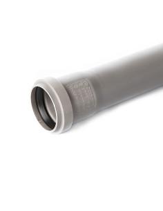 Vamzdis vidaus kanalizacijos PVC 50mm, ilgis 0.25m