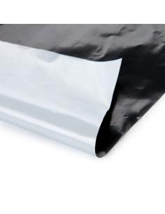 Plėvelė mulčiavimui, dvispalvė juoda/balta, plotis 1.6m, storis 50mkr