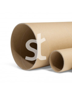 Kartoninis vamzdis tūta  betonavimui 15 cm , 20cm, 30cm skersmens, ilgis 3 m