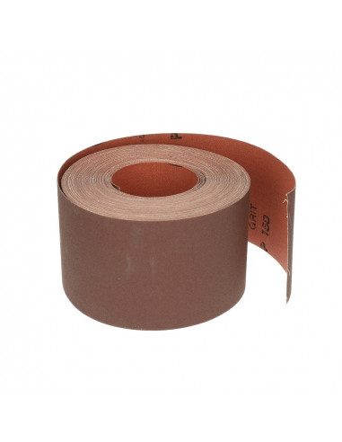 Šlifavimo popierius juostomis P40, plotis 10cm