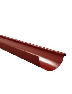 Latakas plieninis, ilgis 3.0m Raudona RAL3009