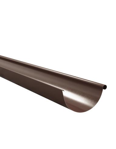 Latakas plieninis, ilgis 2.0m, Ruda RAL8017