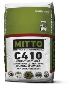 Tinko mišinys C410 MITTO, 25kg
