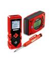 Rinkinys - Gulsčiukas skaitmeninis GO! Smart SOLA + Lazeris atstumui matuoti VECTOR20 SOLA + Automatinis pieštukas SOLA