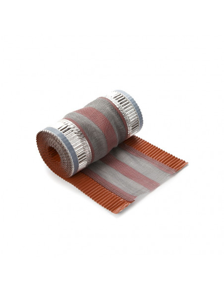 Kraigo sandarinimo juosta, plotis 300mm, ilgis 5m, Raudonos plytos RAL8004