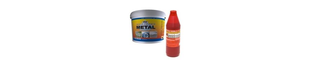 Priemonės metalo apsaugai