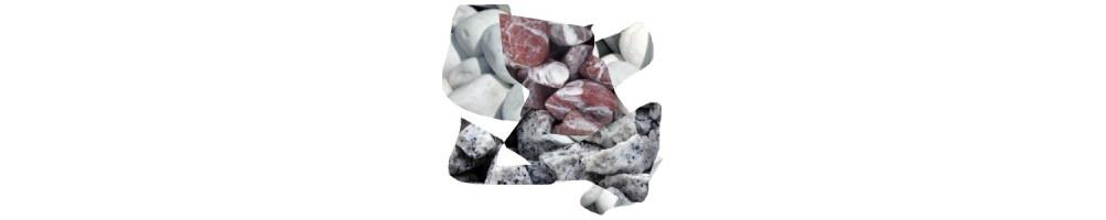 Lauko dekoravimas akmens skalda