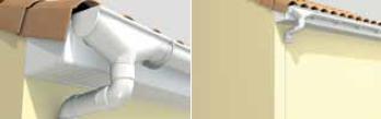 Plastikinė lietaus sistema Nicoll - montavimas