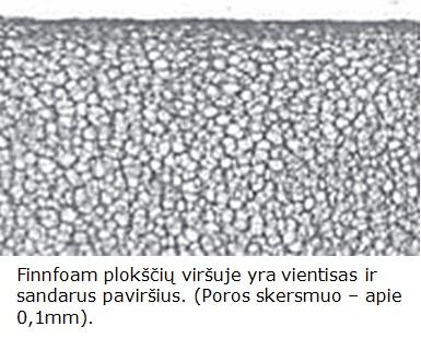 finnfoam ekstruzinis putplastis