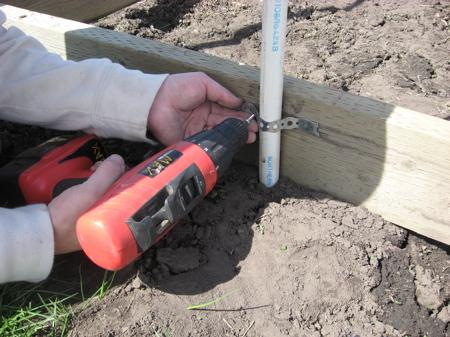 šiltnamio statyba naudojant plastmasinius vamzdžius